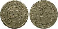 1918  Werne - Eisen ohne Jahr (Funck 596.4) 25 Pfennig   ss-vz selten  175,00 EUR  zzgl. 4,00 EUR Versand