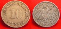1915 G  10 Pfennig ss  79,99 EUR  zzgl. 4,00 EUR Versand