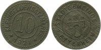 1921   Ettenheim - Zink (Funck 124.6) 10 Pfennig gutes vz  60,00 EUR  zzgl. 4,00 EUR Versand