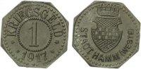 1917  Hamm - Zink 1917 (Funck 191.1) 1 Pfennig  vz  60,00 EUR  zzgl. 4,00 EUR Versand