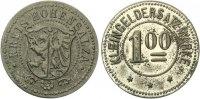 o.j  Hohensalza/Inowrocław (Posen) 1 Mark o.J.Zink verzinnt Funck 218.... 150,00 EUR  zzgl. 4,00 EUR Versand