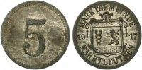 1917   Marktleuthen - Zink vernickelt 1917 (Funck 322.1) 5 Pfennig vz  55,00 EUR  zzgl. 4,00 EUR Versand