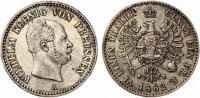 1862 A  1/6 Taler Preussen vz  100,00 EUR  zzgl. 4,00 EUR Versand