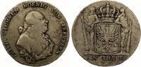 1796 A  Taler Brandenburg-Preussen Friedrich Wilhelm II. 1786-1797.  ss  170,00 EUR  zzgl. 4,00 EUR Versand