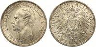 1898  2 Mark Sachsen Weimar Eisenach 1898 Carl vz-st leichte Randunebe... 599,00 EUR kostenloser Versand