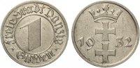 1932  1 Gulden Danzig ss-vz  55,00 EUR  zzgl. 4,00 EUR Versand
