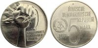 5 Mark Anti Apartheid 1978