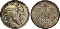 1906  5 Mark Baden 1906 goldene Hochzeit gutes vz + Echtheitszertifikat  185,00 EUR  zzgl. 4,00 EUR Versand