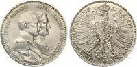 3 Mark Sachsen Weimar 1915 100 Jahre Großherzogtum