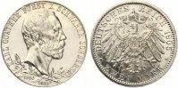 1905  2 Mark Schwarzburg Sondershausen 1905 Zum 25. jährigen Regierung... 120,00 EUR  zzgl. 4,00 EUR Versand