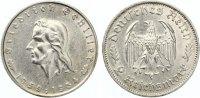 1934 F  2 Mark Schiller vz  65,00 EUR  zzgl. 4,00 EUR Versand