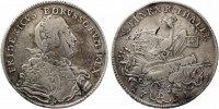 1751 B  Brandenburg Preussen  Friedrich II 1/2 Reichstaler 1751 ss  115,00 EUR  zzgl. 4,00 EUR Versand