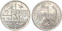 1927  3 Mark Uni Marburg fast Stempelglanz  175,00 EUR  zzgl. 4,00 EUR Versand