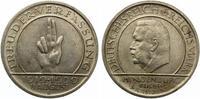 1929 D  5 Mark Schwurhand / Verfassung vz mit Prägeglanz  145,00 EUR  zzgl. 4,00 EUR Versand