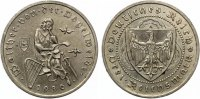 1930 A  3 Mark Vogelweide vz  80,00 EUR  zzgl. 4,00 EUR Versand