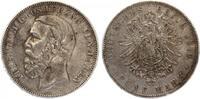 1876  5 Mark Baden ss+  130,00 EUR  zzgl. 4,00 EUR Versand