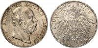 1901  2 Mark Sachsen Altenburg 1901  vorzüglich - stempelglanz  700,00 EUR kostenloser Versand