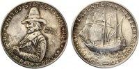 1920  1/2 Dollar USA 1920 Pilgerväter  vz-st