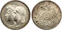 1910  3 Mark Sachsen Weimar Eisenach vz+  70,00 EUR  zzgl. 4,00 EUR Versand