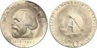 1968  20 Mark Karl Marx Stempelglanz feine Patina  60,00 EUR  zzgl. 4,00 EUR Versand