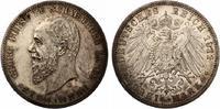 1911  3 Mark Schaumburg Lippe vz-st  180,00 EUR  zzgl. 4,00 EUR Versand