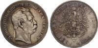 1876  5 Mark Hessen fast ss  85,00 EUR  zzgl. 4,00 EUR Versand