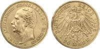 1896  20 Mark Sachsen Weimar Eisenach ss-vz Druckstelle am Rand  2750,00 EUR kostenloser Versand