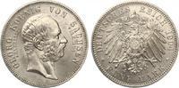 1904  5 Mark Sachsen 1904 Georg auf Tod fast st  350,00 EUR  zzgl. 4,00 EUR Versand