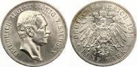 1914  5 Mark Sachsen 1914 Friedrich August III vz-st  115,00 EUR  zzgl. 4,00 EUR Versand