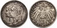 1903  2 Mark Sachsen Weimar Eisenach 1903 Hochzeit vz-st feine Patina  145,00 EUR  zzgl. 4,00 EUR Versand