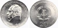 1969  20 Mark Goethe st  85,00 EUR  zzgl. 4,00 EUR Versand