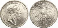 1909  3 Mark Sondershausen 1909 auf den Tod vz-st/st  185,00 EUR  zzgl. 4,00 EUR Versand