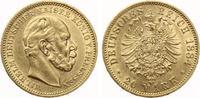 1884  20 Mark Preussen Wilhelm I f.vz  335,00 EUR  zzgl. 4,00 EUR Versand