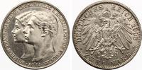 1903  2 Mark Sachsen Weimar Eisenach 1. Hochzeit gutes vz  110,00 EUR  zzgl. 4,00 EUR Versand