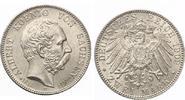 1902  2 Mark Sachsen 1902 Albert auf den Tod fast Stempelglanz  100,00 EUR  zzgl. 4,00 EUR Versand