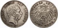 1894  5 Mark Sachsen ss  65,00 EUR  zzgl. 4,00 EUR Versand