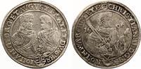 1606  Sachsen Reichstaler 1606  Christian II. Johann Georg u. August. ... 200,00 EUR  zzgl. 4,00 EUR Versand
