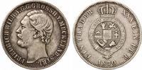 1871  Mecklenburg Strelitz Vereinstaler 1870 Friedrich Wilhelm ss  115,00 EUR  zzgl. 4,00 EUR Versand