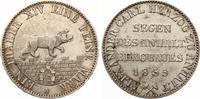 1855  Anhalt Vereinstaler 1855 Segen des Anhalt Bergbaues vz winziger Rf  135,00 EUR  zzgl. 4,00 EUR Versand