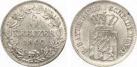 1866  Bayern 6 Kreuzer 1866 Bayrische Scheidemünze gutes vz selten  125,00 EUR  zzgl. 4,00 EUR Versand