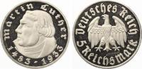 1933 F  5 Mark Luther 1933 F geringe Auflage PP einzelne feine Kratzer... 475,00 EUR  zzgl. 4,00 EUR Versand