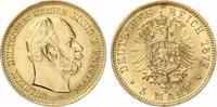 1877 A  5 Mark Preussen Wilhelm I GOLD ss Aver Kratzer  260,00 EUR  zzgl. 4,00 EUR Versand