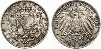 1904  2 Mark Bremen nahezu ST Prachtstück  175,00 EUR  zzgl. 4,00 EUR Versand