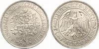 1929 A  5 Mark Eichbaum fast Stempelglanz  225,00 EUR  zzgl. 4,00 EUR Versand