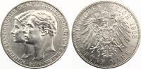 1903  5 Mark Sachsen Weimar Eisenach 1. Hochzeit vz-st  295,00 EUR  zzgl. 4,00 EUR Versand
