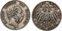 1896  2 Mark Sachsen ss  70,00 EUR  zzgl. 4,00 EUR Versand