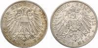 1912  2 Mark Lübeck Jaeger 81 vz  185,00 EUR  zzgl. 4,00 EUR Versand
