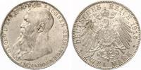 1915  2 Mark Sachsen Meiningen Georg auf Tod Jaeger 154 vz/prägefrisch  230,00 EUR  zzgl. 4,00 EUR Versand