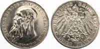 1915  3 Mark Sachsen Meiningen Georg auf Tod Jaeger 155 vz+  200,00 EUR  zzgl. 4,00 EUR Versand