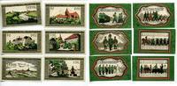1921  Wildeshausen 2 x 25 Pfennig - 1 Mark Mehl 1426.1b komplett 6 Stü... 85,00 EUR  zzgl. 4,00 EUR Versand
